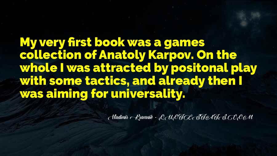 Vladimir Kramnik Quotes #322964