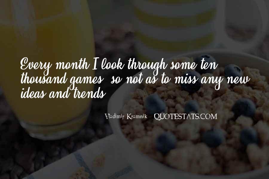 Vladimir Kramnik Quotes #38107