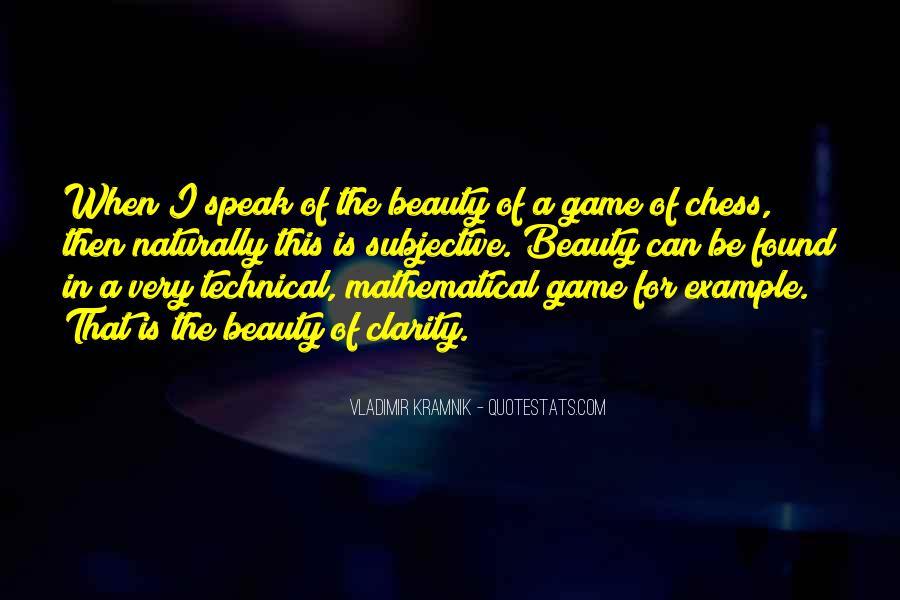 Vladimir Kramnik Quotes #53934