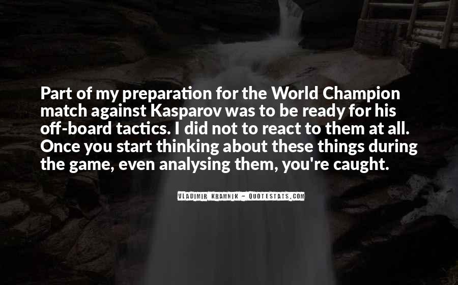 Vladimir Kramnik Quotes #948381
