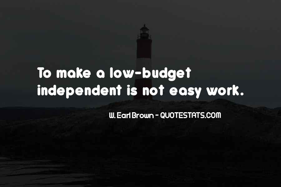 W. Earl Brown Quotes #1828150
