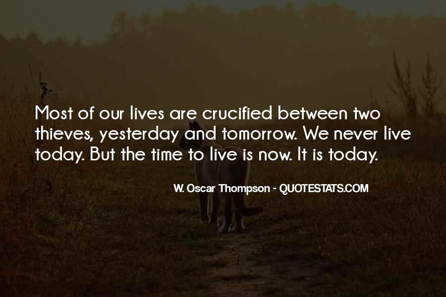 W. Oscar Thompson Quotes #52034