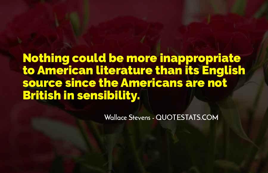 Wallace Stevens Quotes #1032433