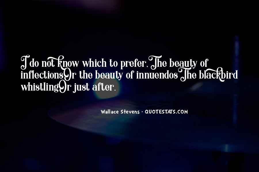 Wallace Stevens Quotes #1227154