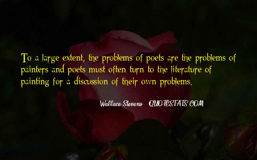 Wallace Stevens Quotes #1257453