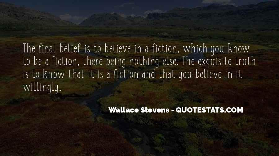 Wallace Stevens Quotes #1360398