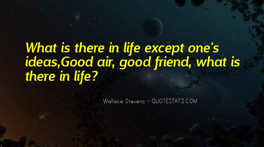 Wallace Stevens Quotes #143487
