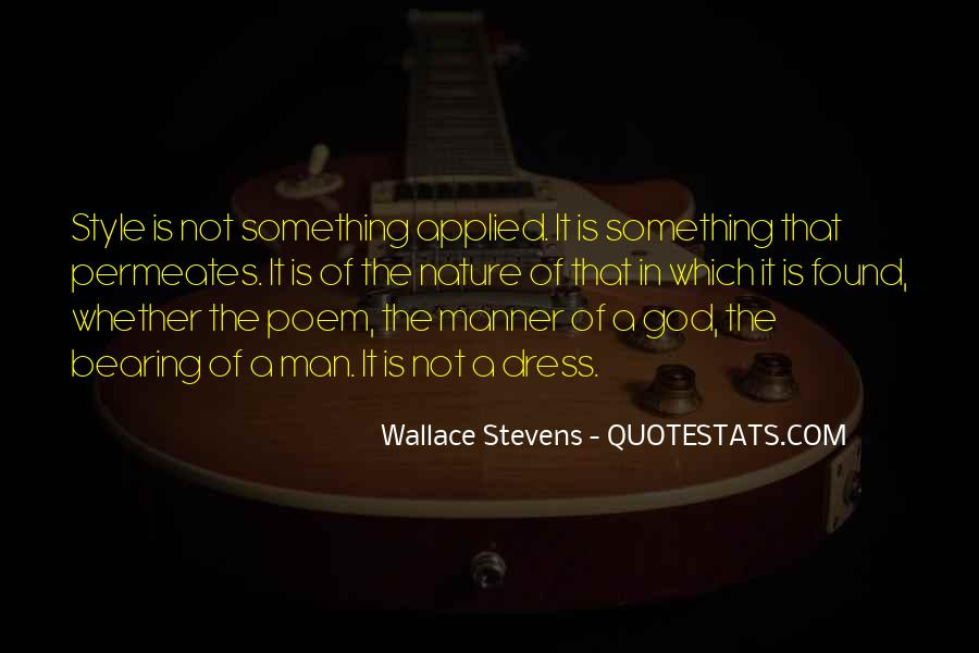 Wallace Stevens Quotes #1470619