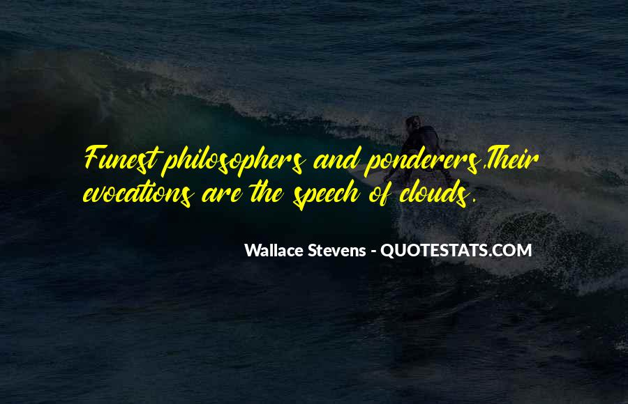 Wallace Stevens Quotes #1497167