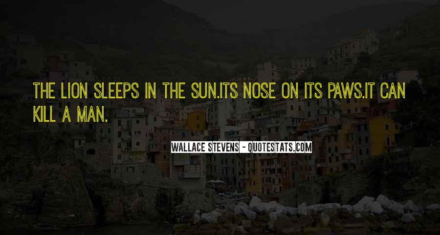 Wallace Stevens Quotes #1500177