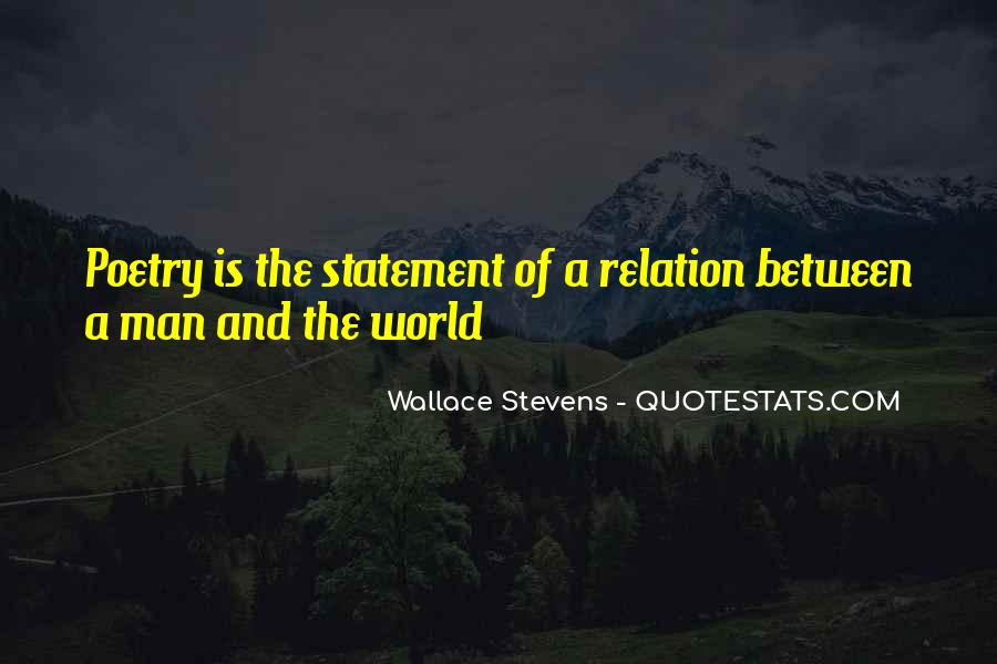 Wallace Stevens Quotes #1655711