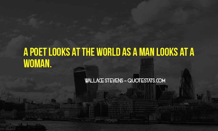 Wallace Stevens Quotes #167455