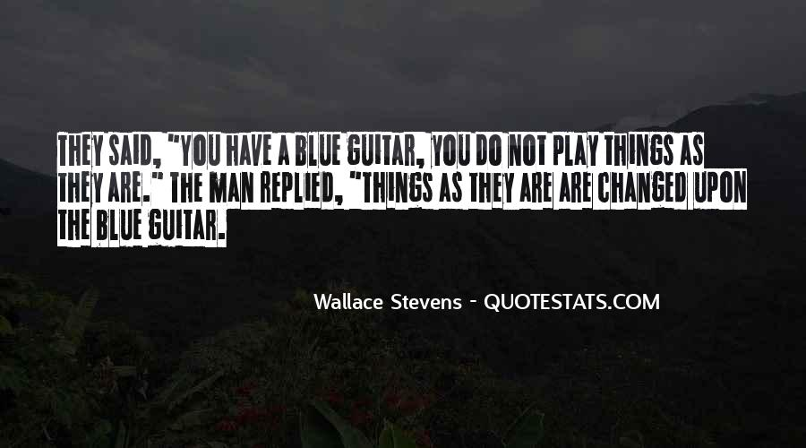 Wallace Stevens Quotes #1719284