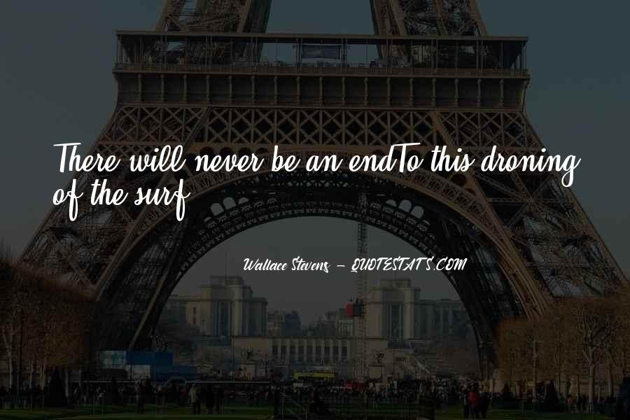 Wallace Stevens Quotes #1777376