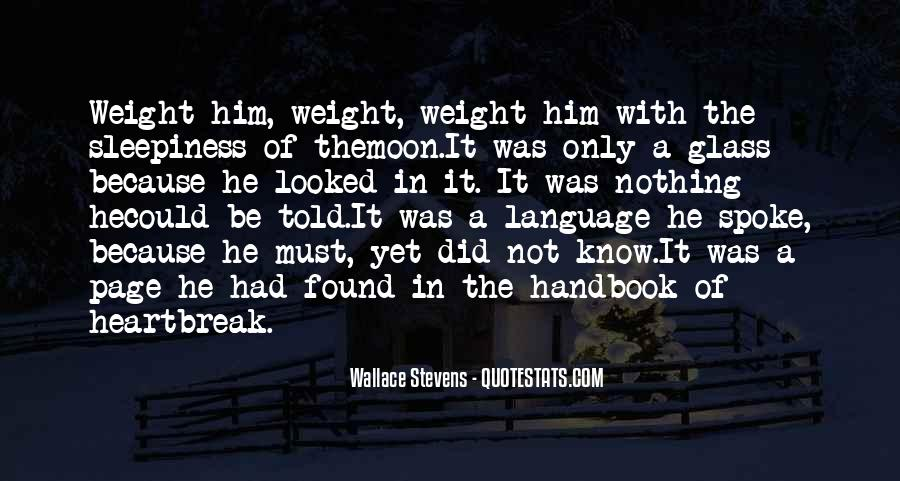 Wallace Stevens Quotes #1787226