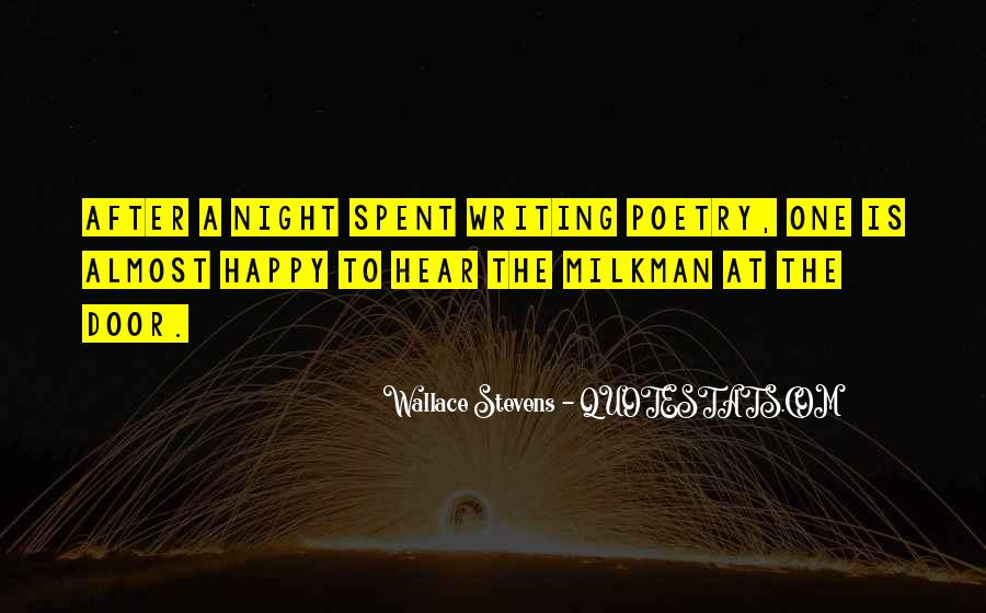 Wallace Stevens Quotes #1816931