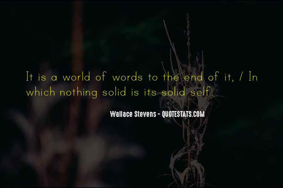 Wallace Stevens Quotes #1826167