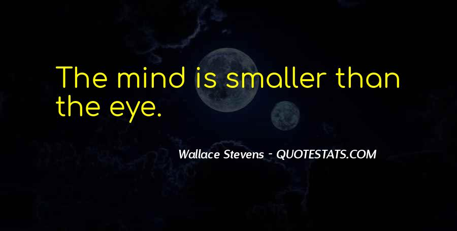 Wallace Stevens Quotes #1838913