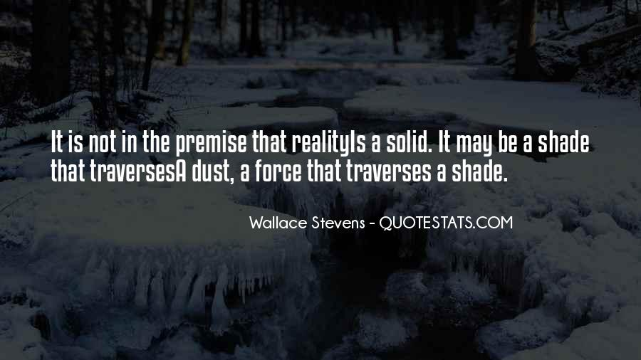 Wallace Stevens Quotes #1844212