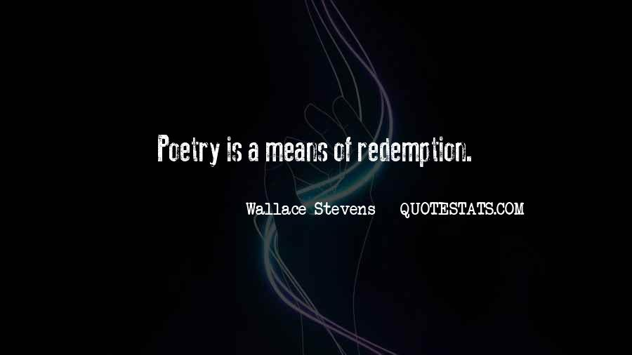 Wallace Stevens Quotes #1857958