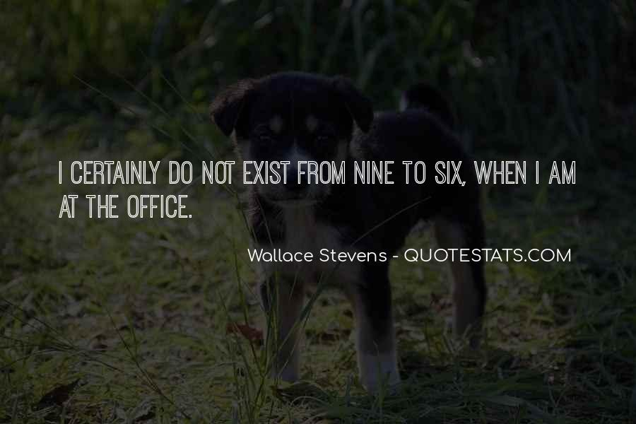 Wallace Stevens Quotes #366516