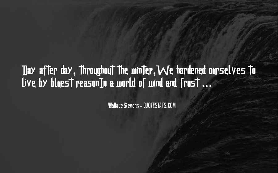 Wallace Stevens Quotes #399620