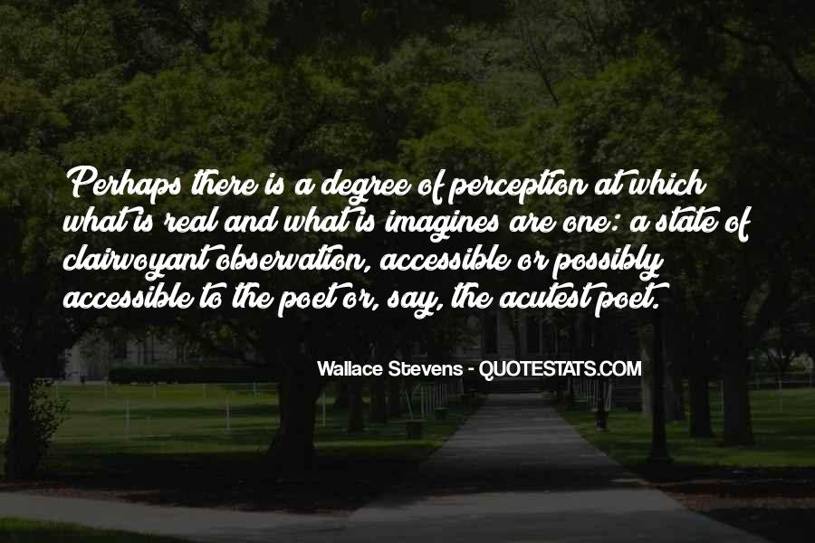 Wallace Stevens Quotes #439984