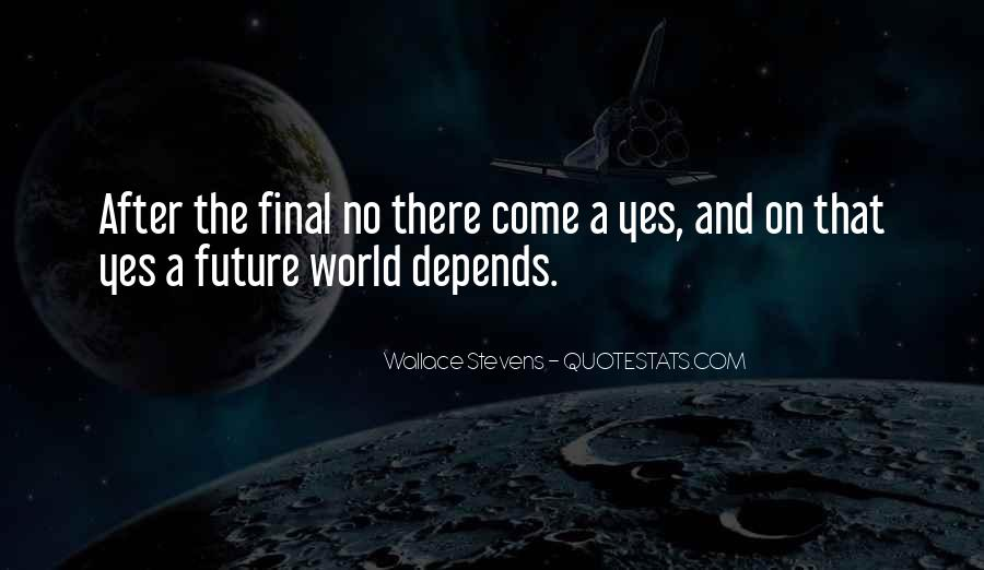 Wallace Stevens Quotes #444982