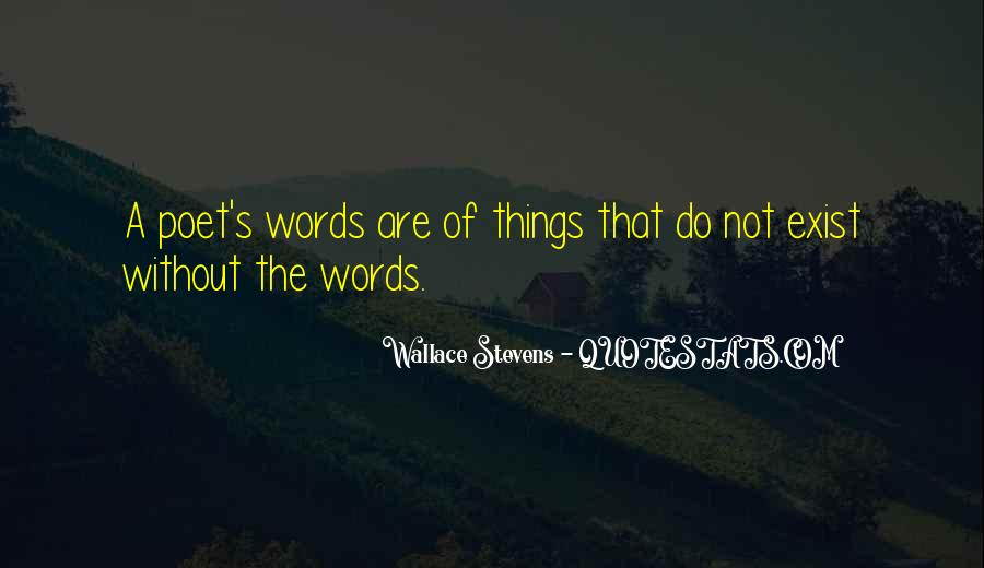 Wallace Stevens Quotes #511411
