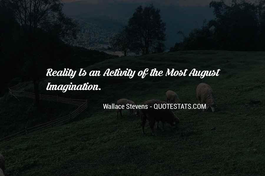 Wallace Stevens Quotes #522142