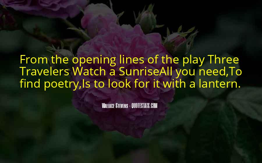 Wallace Stevens Quotes #561379