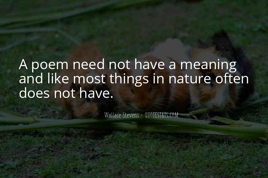 Wallace Stevens Quotes #76572
