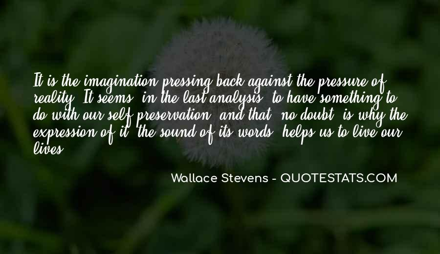 Wallace Stevens Quotes #780178