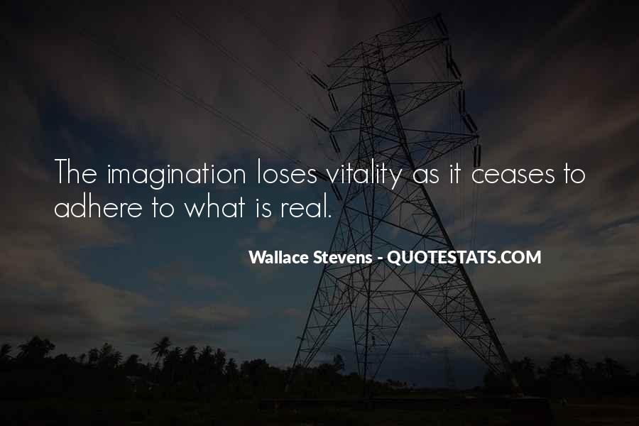 Wallace Stevens Quotes #967378