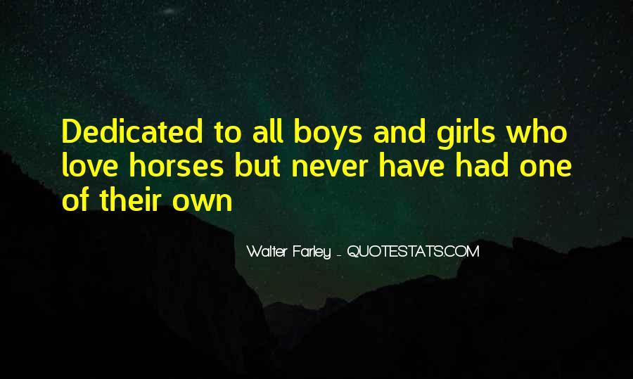 Walter Farley Quotes #1130328