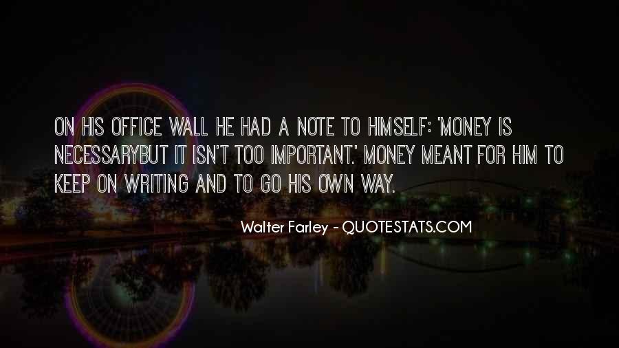 Walter Farley Quotes #981027