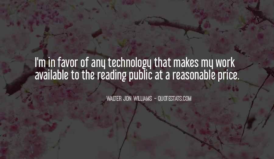 Walter Jon Williams Quotes #305935