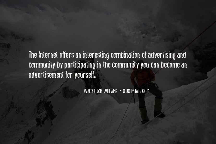 Walter Jon Williams Quotes #598387