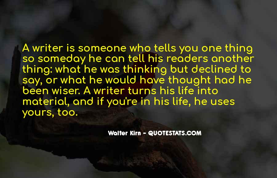 Walter Kirn Quotes #1767160