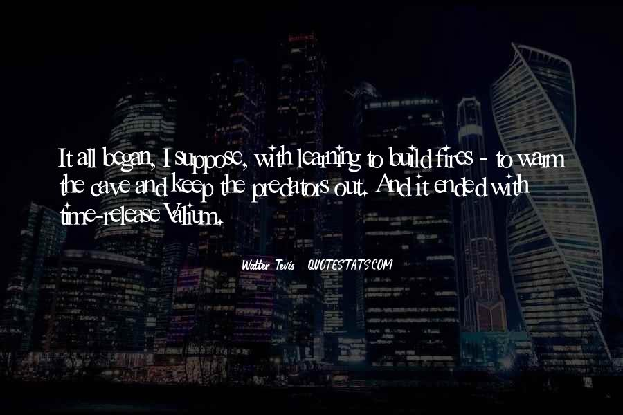 Walter Tevis Quotes #1363920