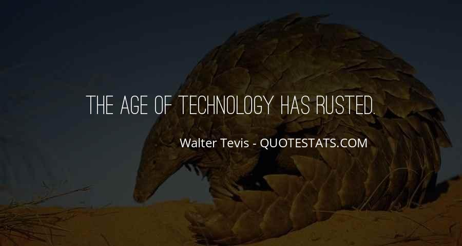 Walter Tevis Quotes #70246