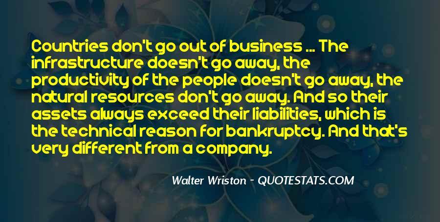 Walter Wriston Quotes #1196844