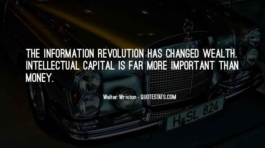Walter Wriston Quotes #1201925