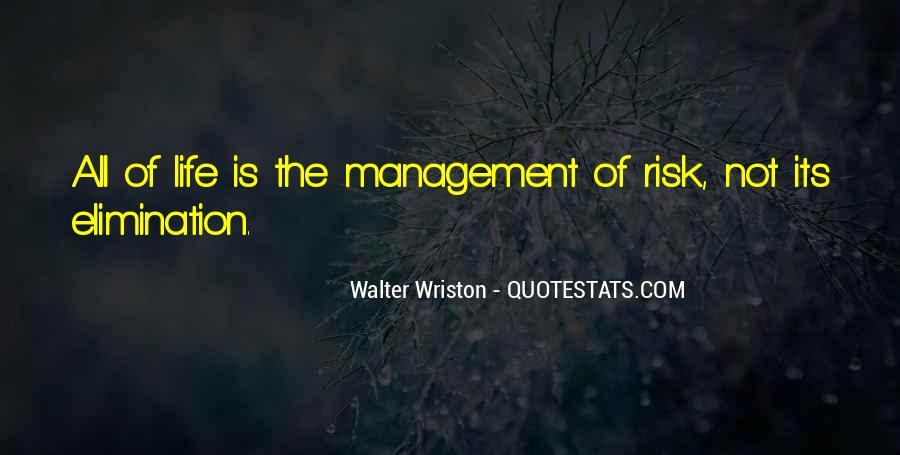 Walter Wriston Quotes #1206776