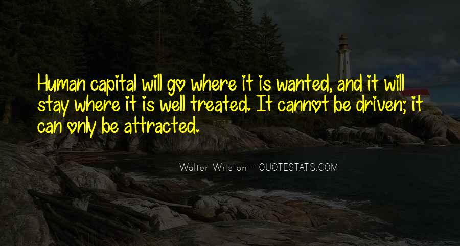 Walter Wriston Quotes #1356430