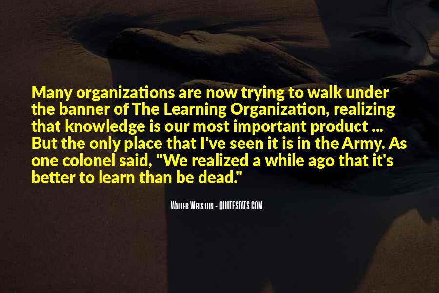 Walter Wriston Quotes #173736