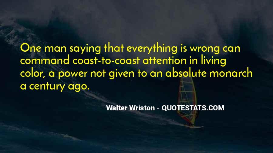 Walter Wriston Quotes #229678