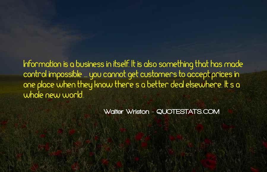 Walter Wriston Quotes #651748