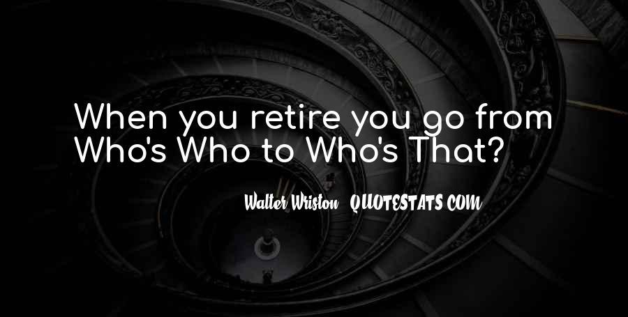 Walter Wriston Quotes #678959