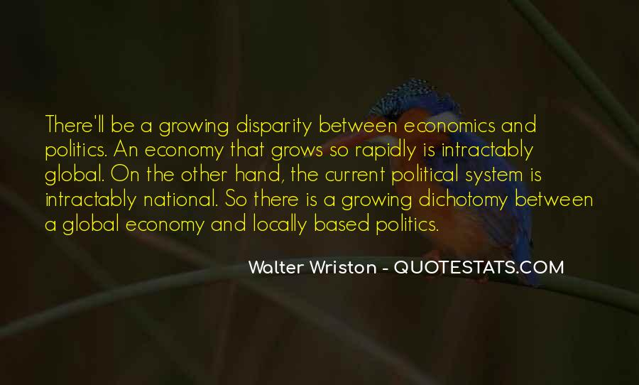 Walter Wriston Quotes #89736